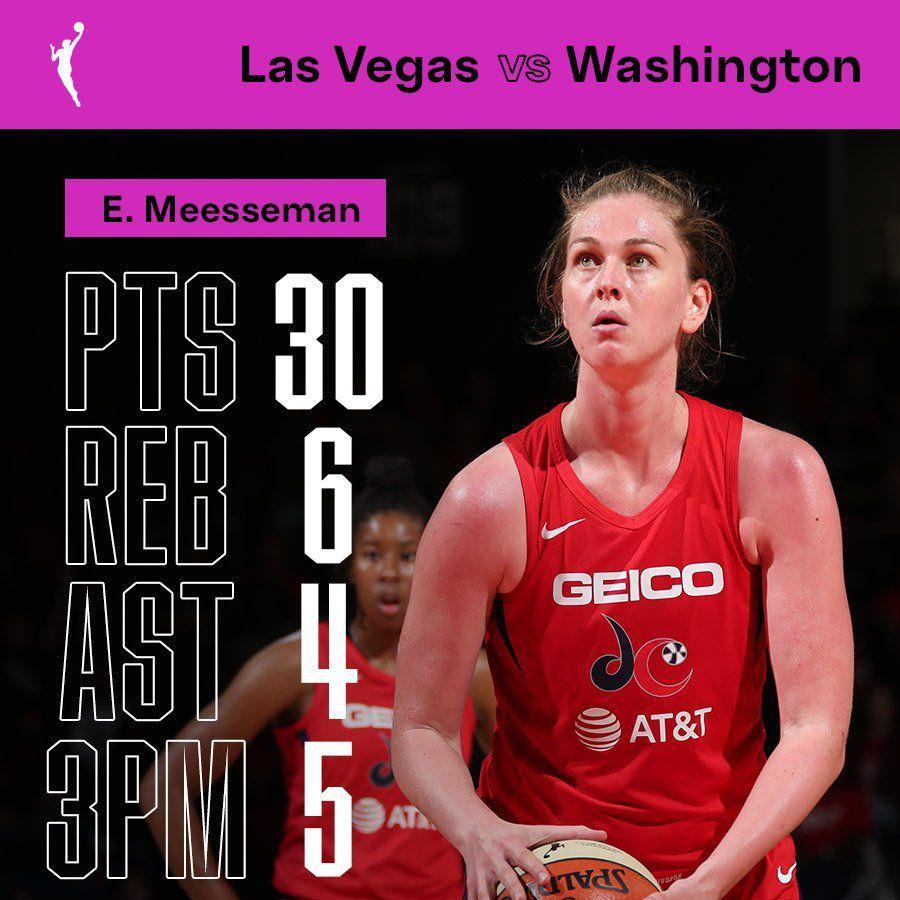 WNBA : Emma Meesseman mène Washington à une victoire de la finale