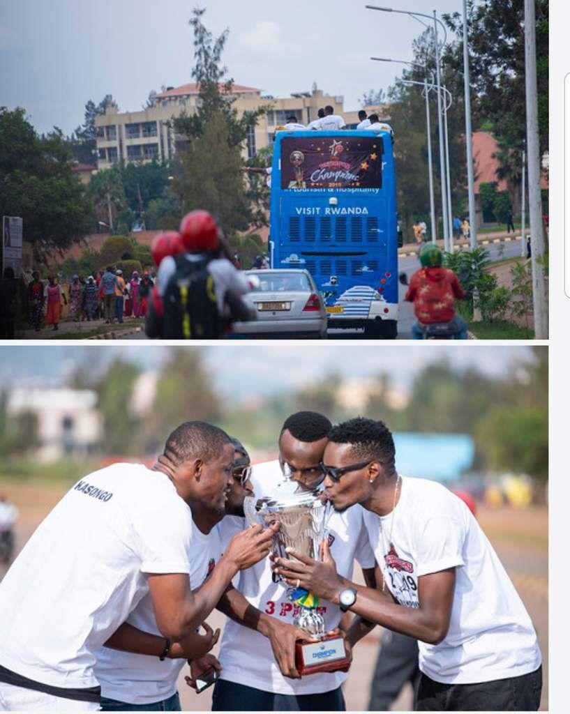 Retour en images sur la parade des Patriots de Kigali, auteurs d'un Three-peat historique !!!