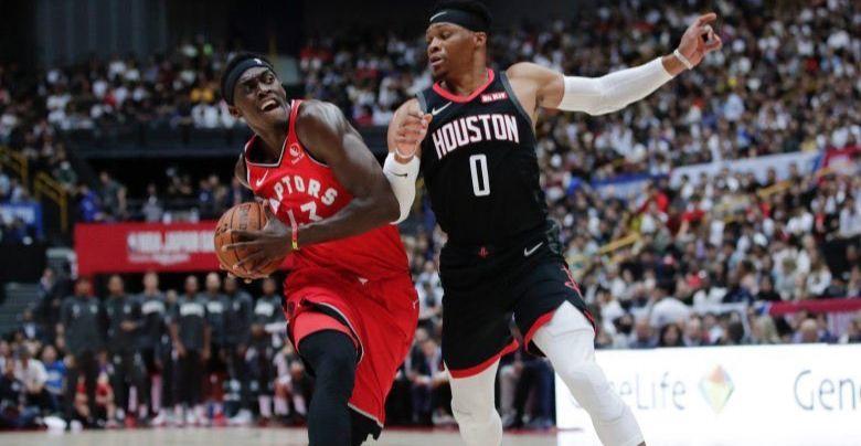 Présaison : Pascal Siakam et les Raptors gâchent la première sortie de Russell Westbrook avec les Rockets