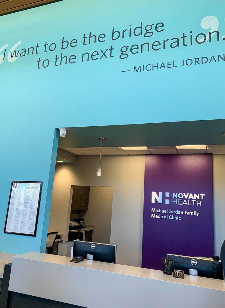 Michael Jordan ouvre la première des deux cliniques à Charlotte