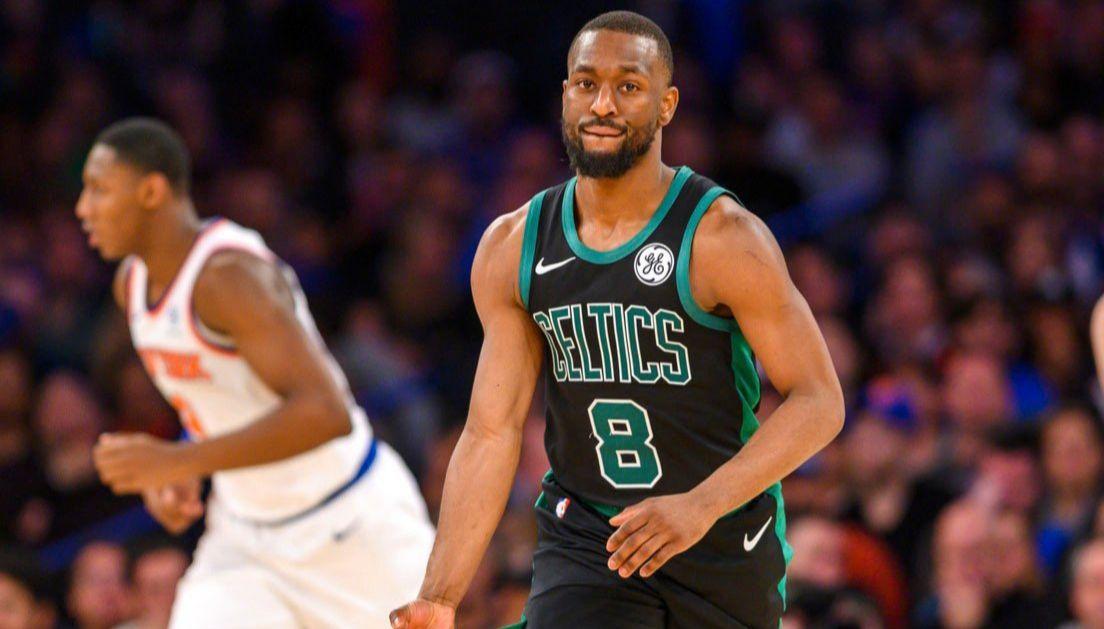 Kemba Walker marche sur les Knicks au Madison Square Garden