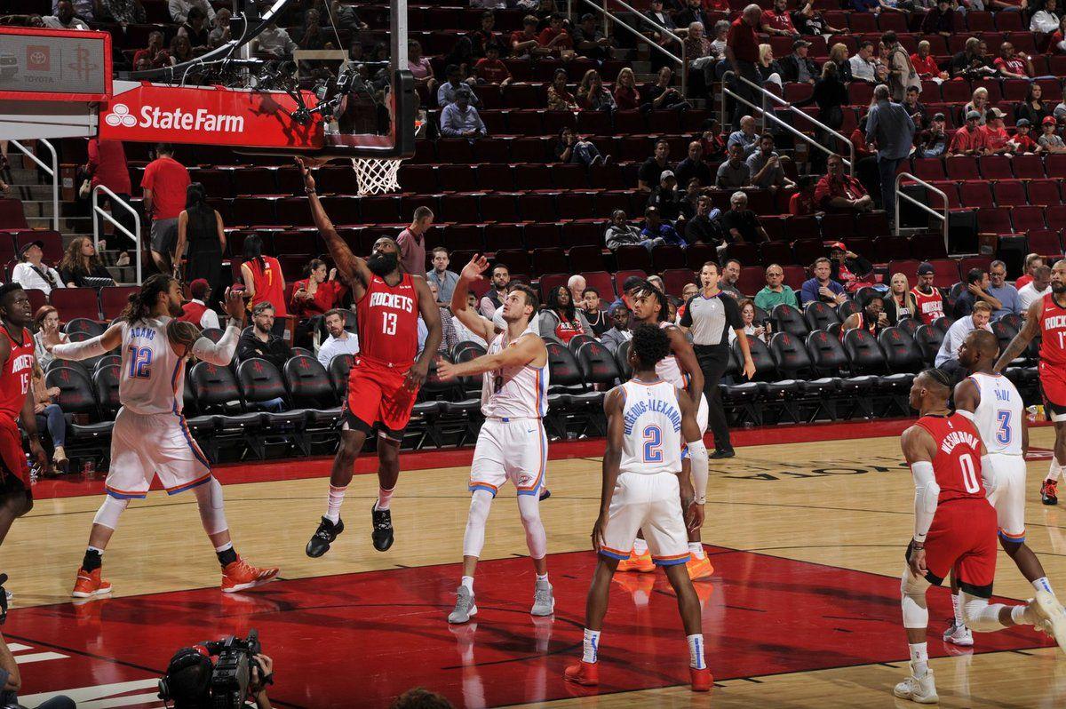 Westbrook frôle le triple-double pour ses retrouvailles avec le Thunder, James Harden cartonne
