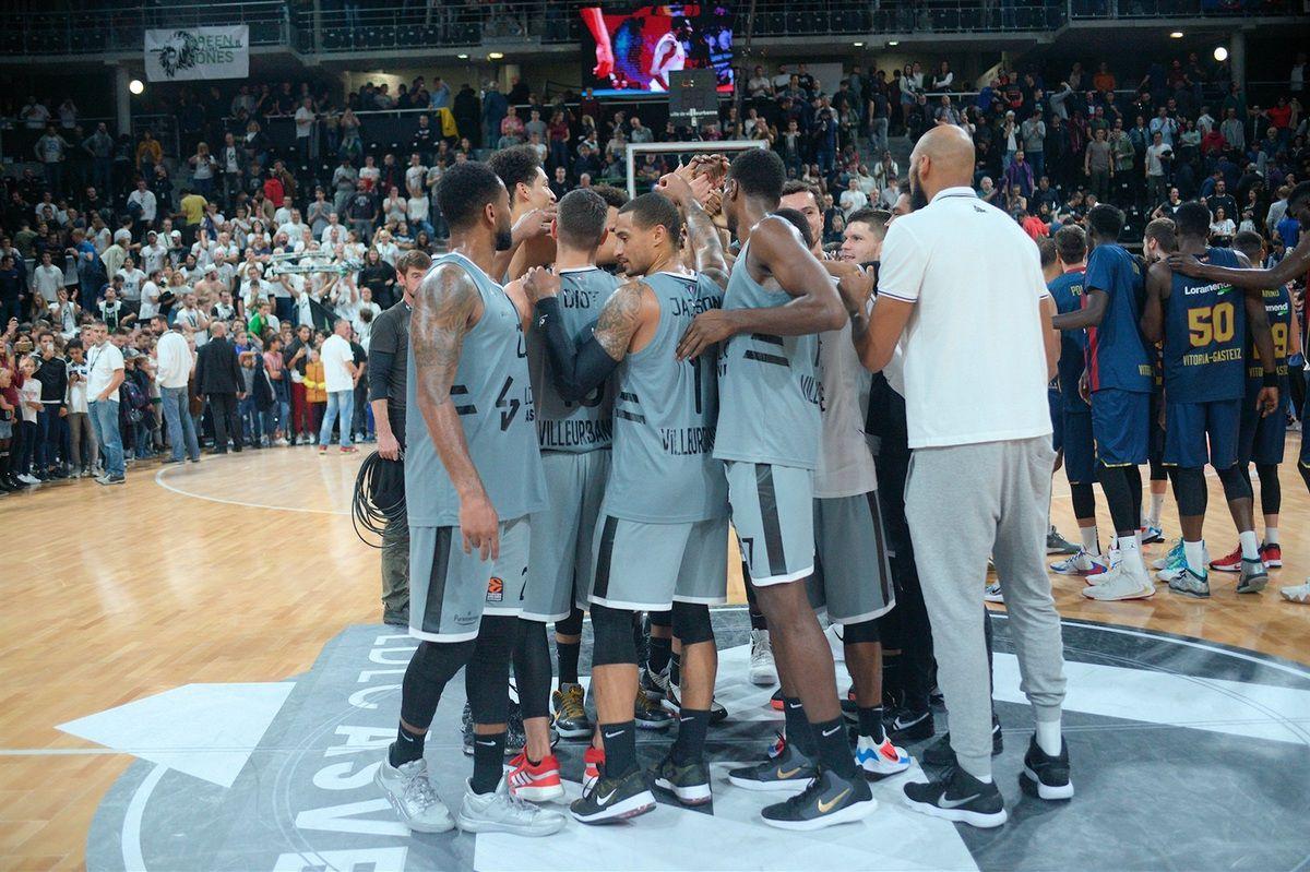 Euroligue : l'Asvel renoue avec la victoire en battant le Vitoria