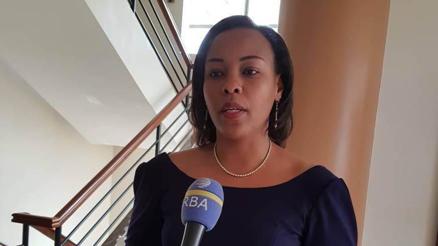 Aurore Mimosa Munyangaju, ministre des sports du Rwanda