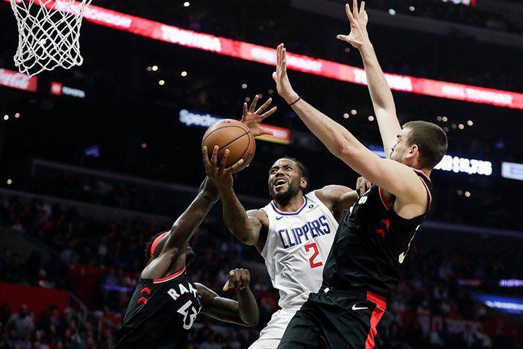 Kawhi Leonard et les Clippers viennent à bout des Raptors