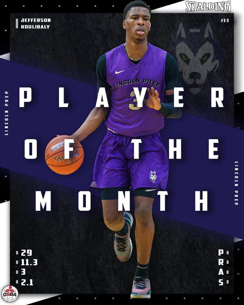 Ontario SBA : Jefferson Koulibaly élu joueur du mois de novembre