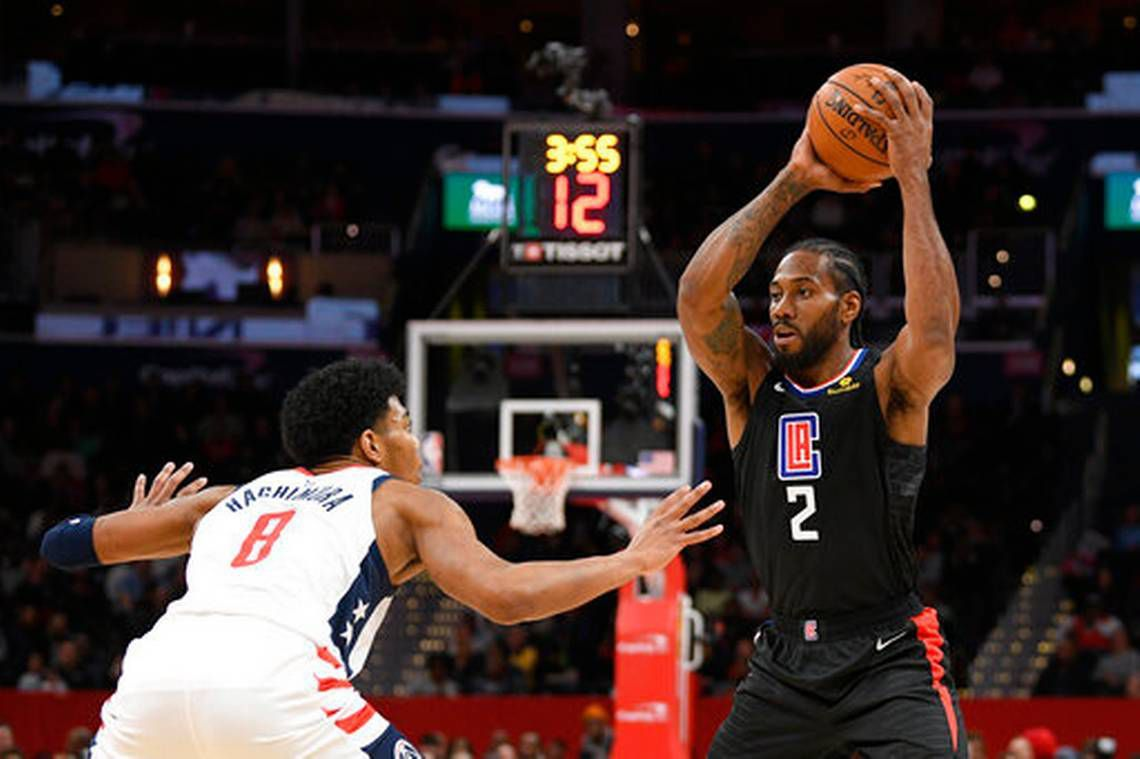 Kawhi Leonard et les Clippers se relancent à Washington
