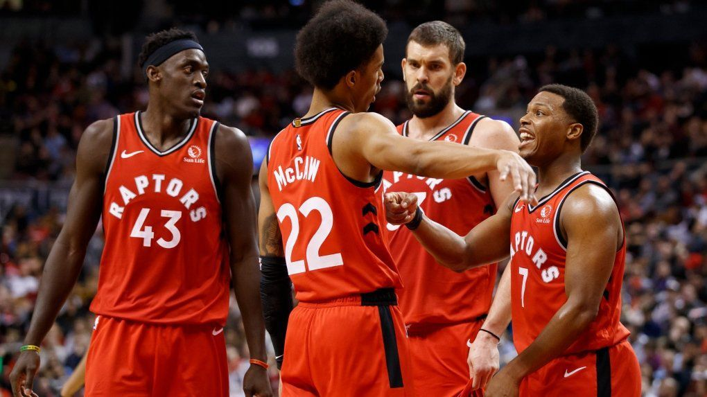 Les Raptors réagissent face aux Nets