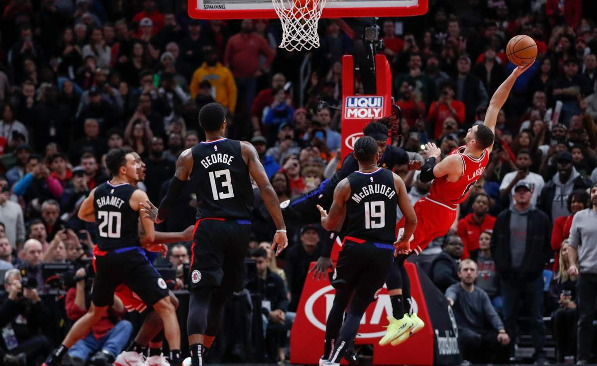 Les Clippers chutent face à Chicago
