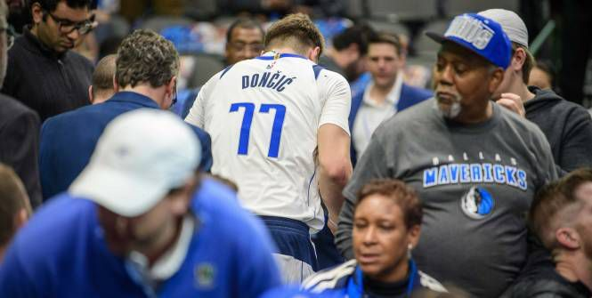 Luka Doncic indisponible deux semaines