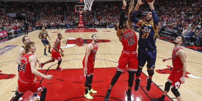 Le Jazz s'impose à Chicago avec un Rudy Gobert décisif dans le money-time