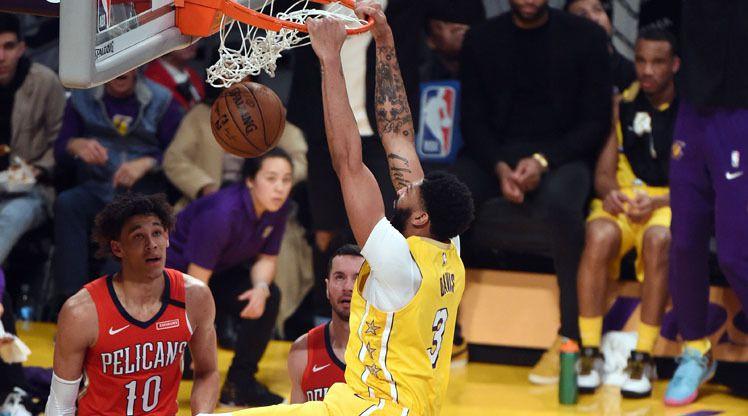 Portés par un Anthony Davies en feu, les Lakers ont dominé, non sans difficultés, les Pelicans (123-113) ce samedi matin.