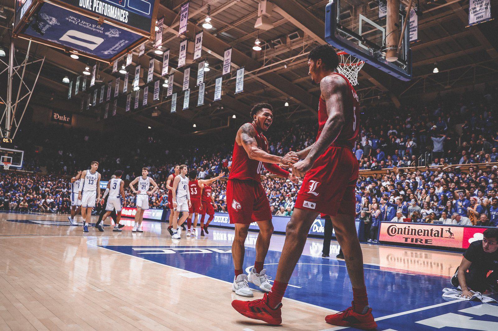 NCAA : Louisville remporte le choc au sommet de l'ACC en battant Duke