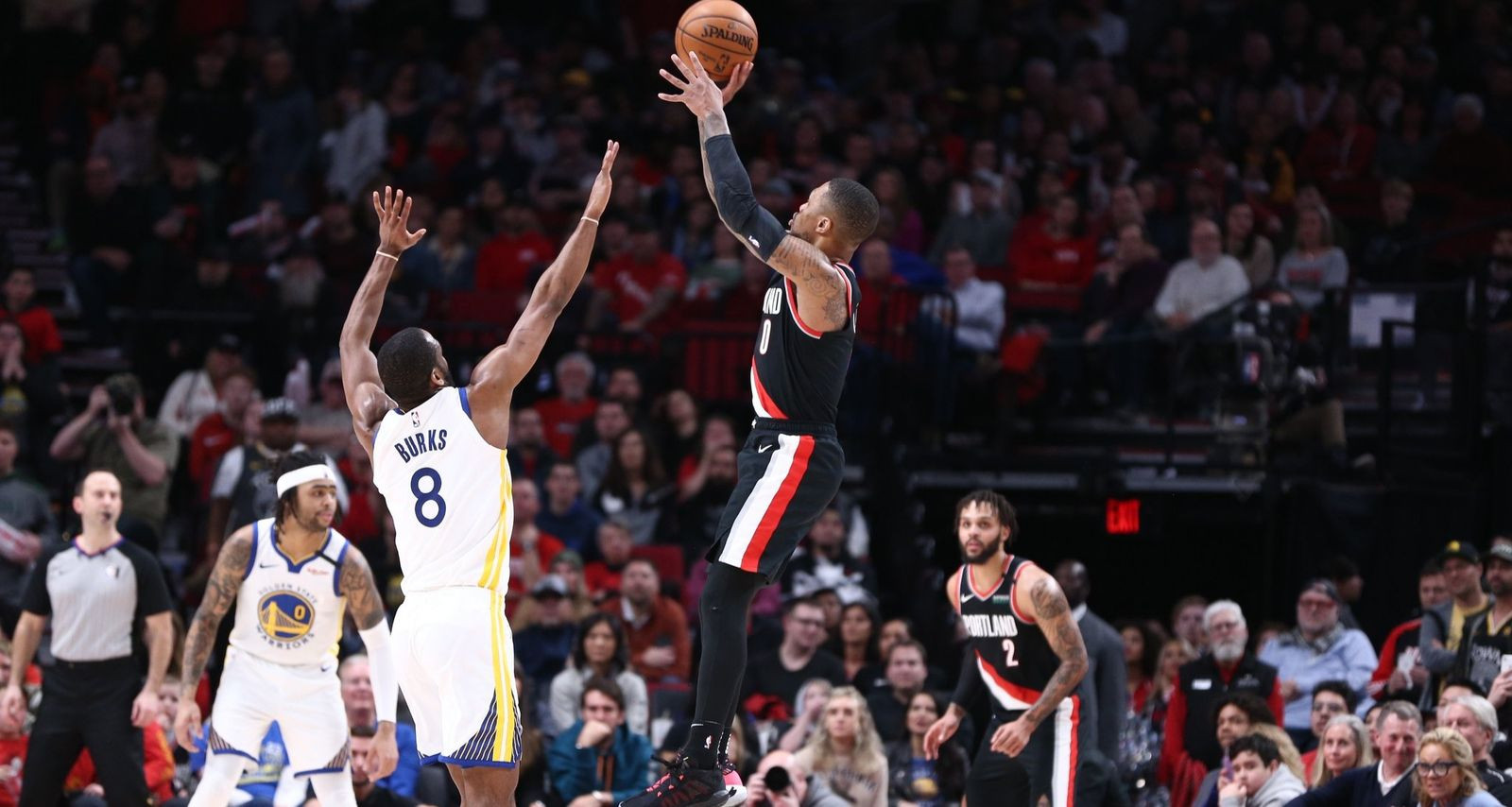 Martin Luther King Day : Damian Lillard explose les compteurs face aux Warriors