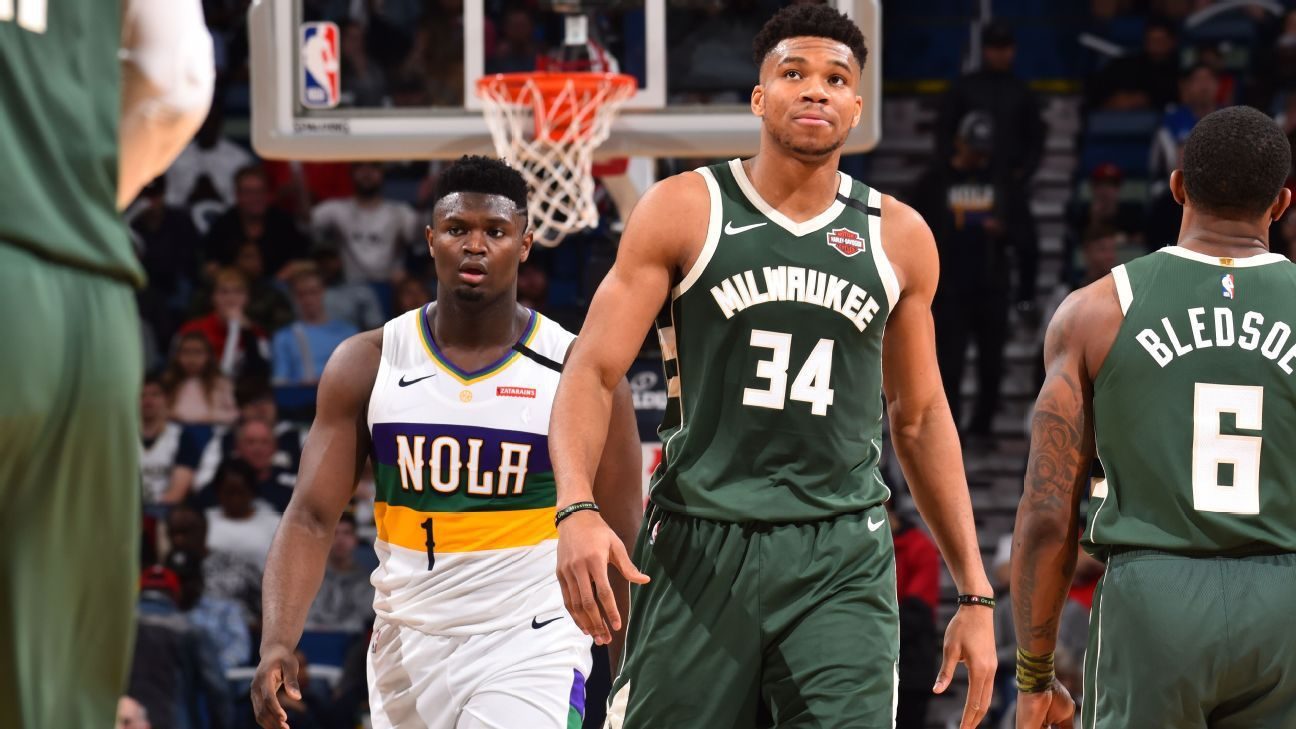 Giannis Antetokounmpo remporte son duel face à Zion Williamson