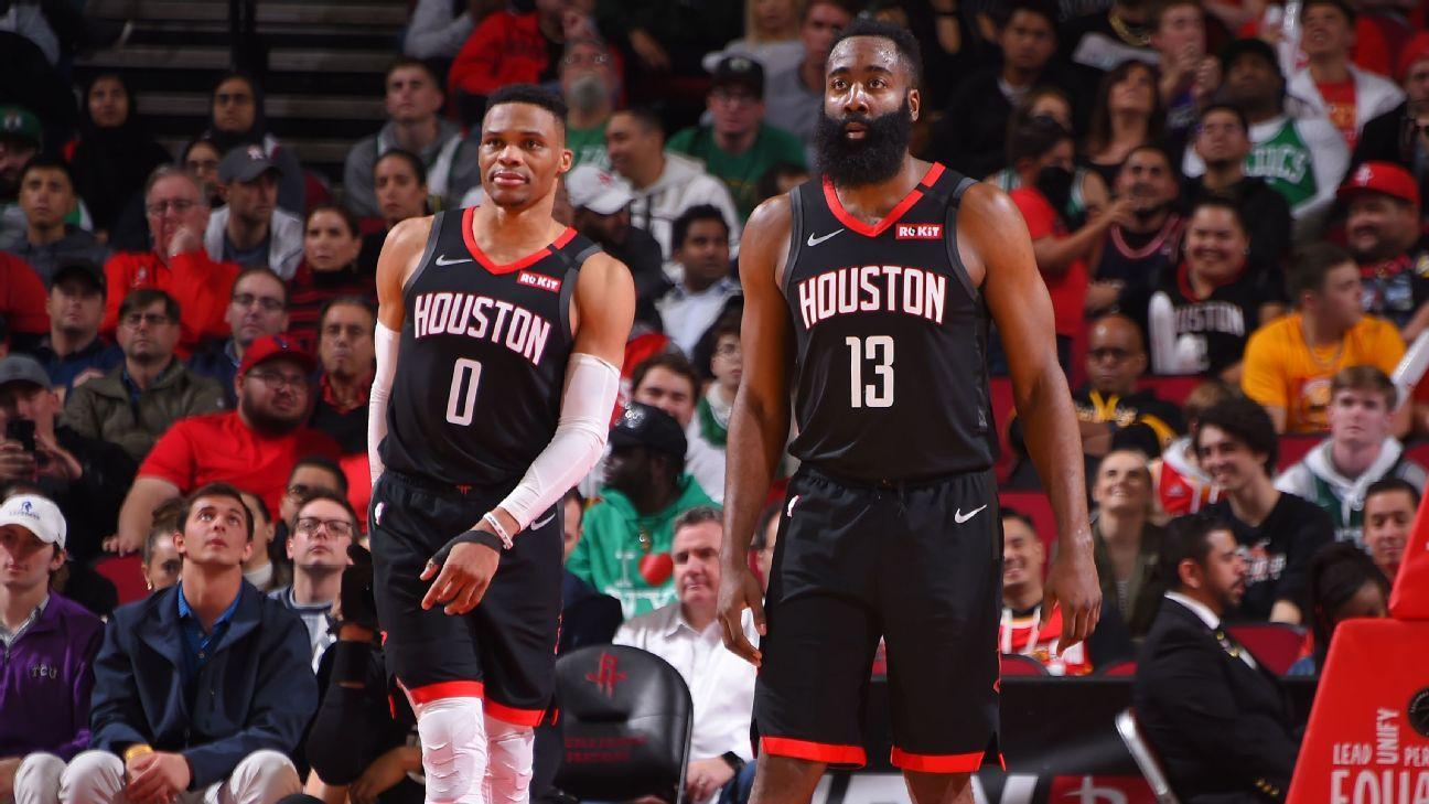 James Harden et Russell Westbrook éteignent les Celtics !
