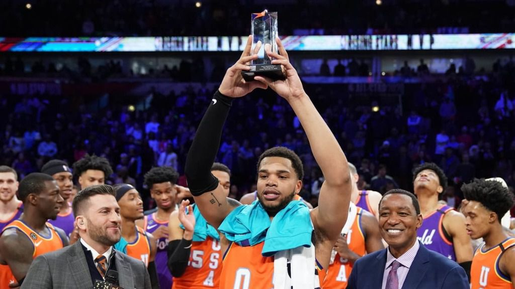 La Team USA remporte le Rising Stars Challenge en battant la Team World