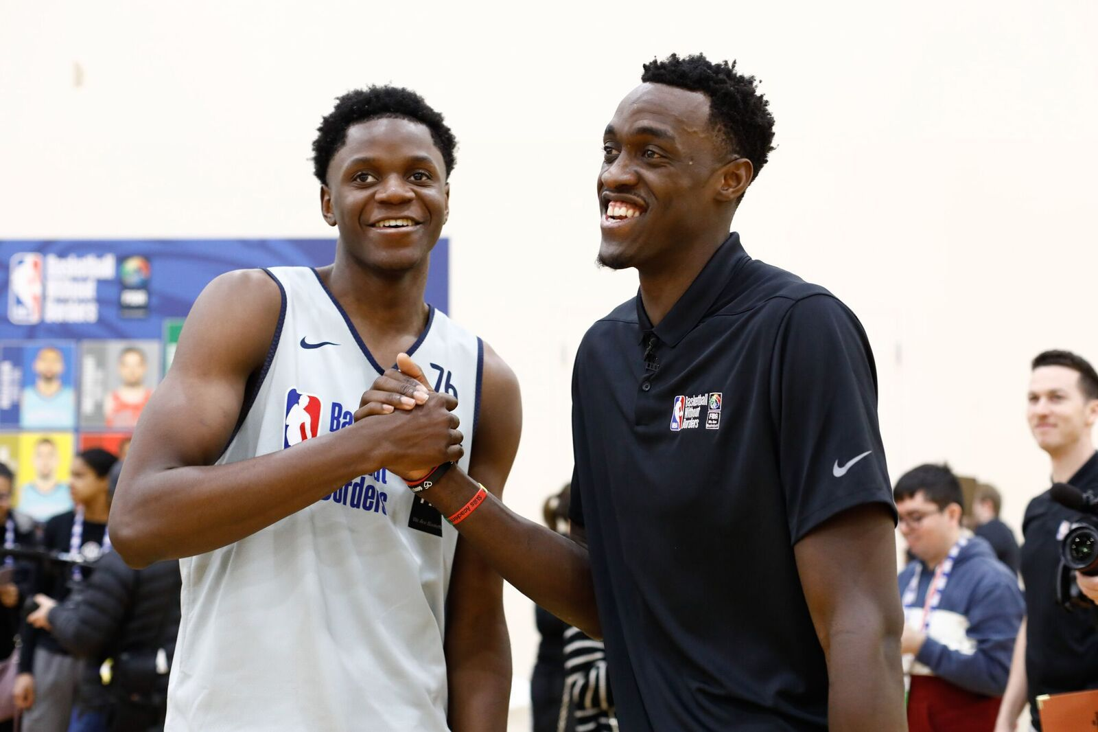 Les résultats de la 6ème édition du Basketball Without Borders Global Camp