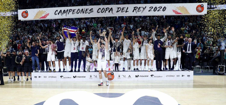 Le Real Madrid remporte la Coupe du roi en battant l'Unicaja Malaga en finale