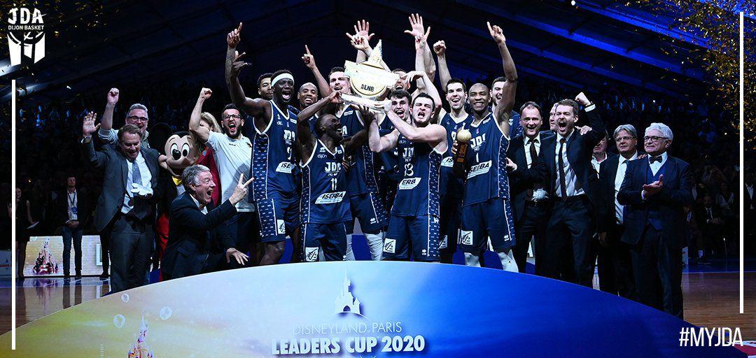 La JDA remporte la deuxième Leaders Cup de son histoire en battant l'Asvel en finale