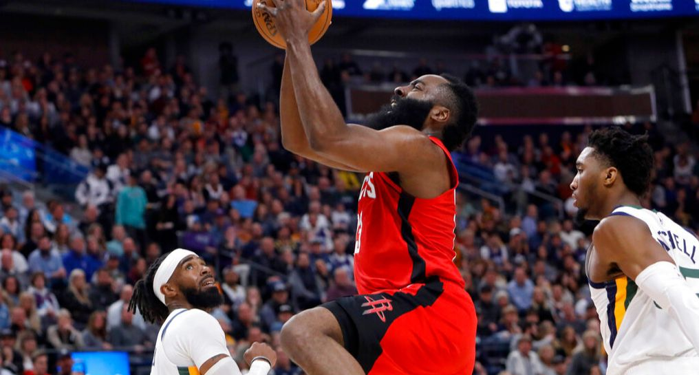 James Harden et Russell Westbrook s'occupent du Jazz