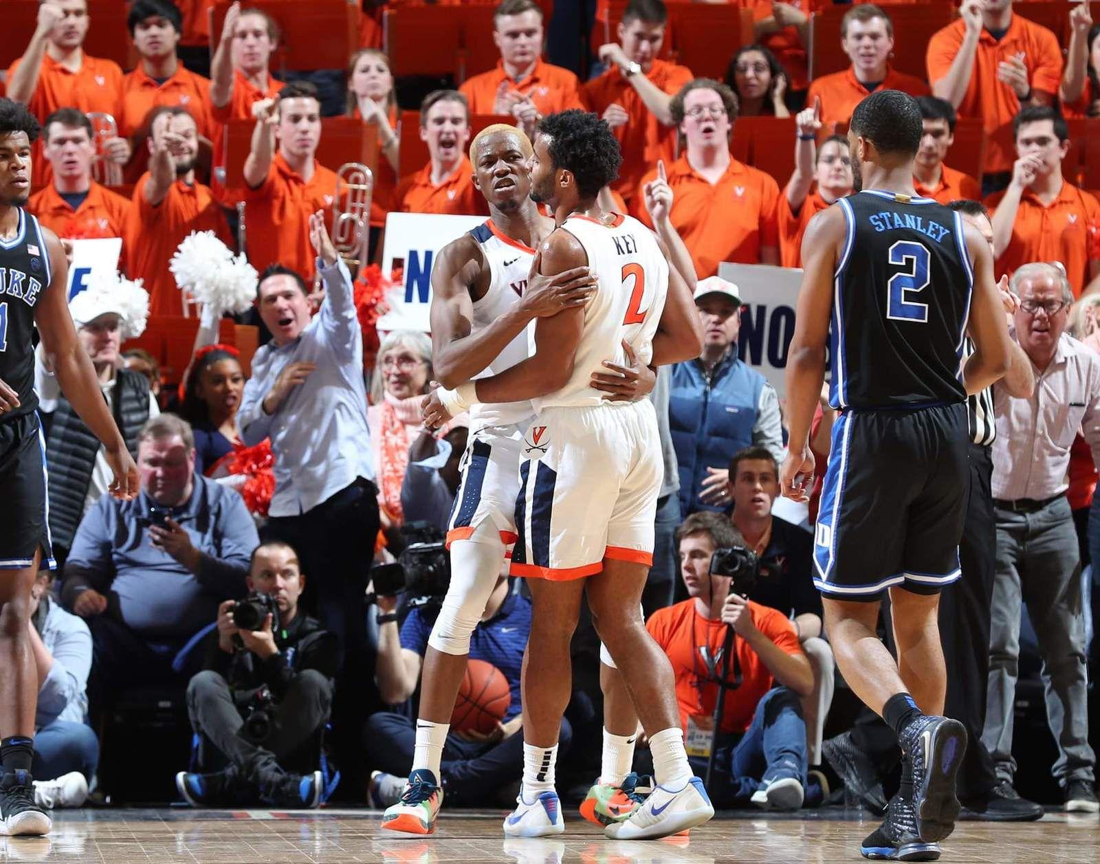 NCAA : Diakité et Virginia viennent à bout de Duke dans le choc au sommet de l'ACC