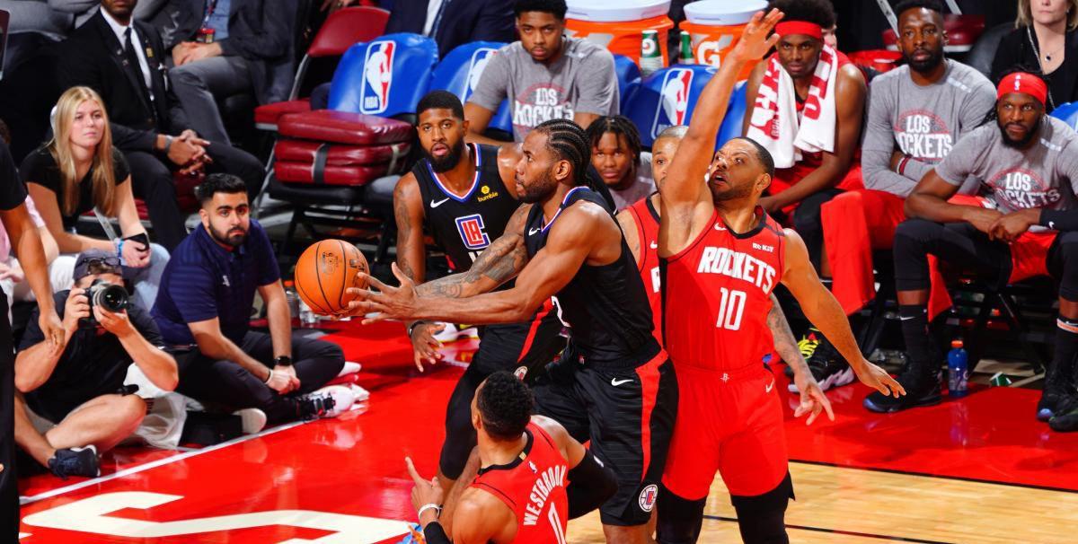 Les Clippers donnent une leçon aux Rockets !