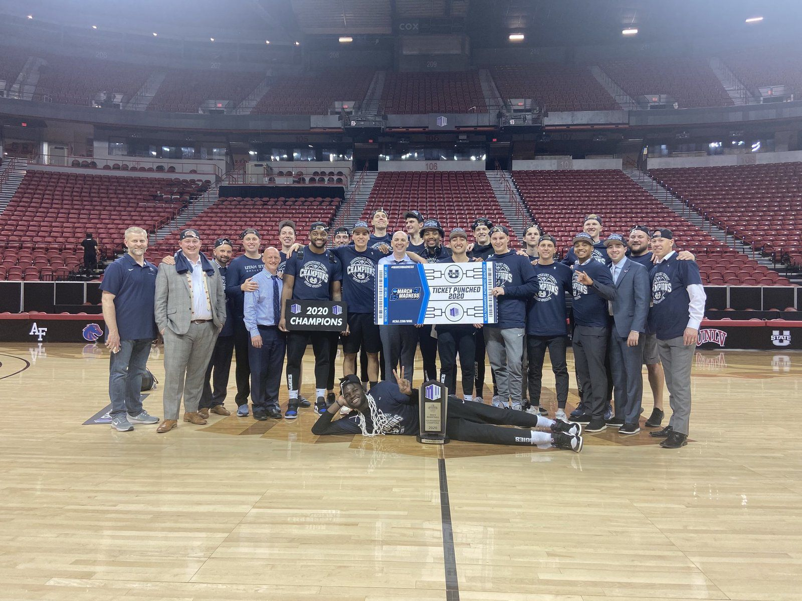 Mountain West Conference : Utah State réalise un back-to-back !