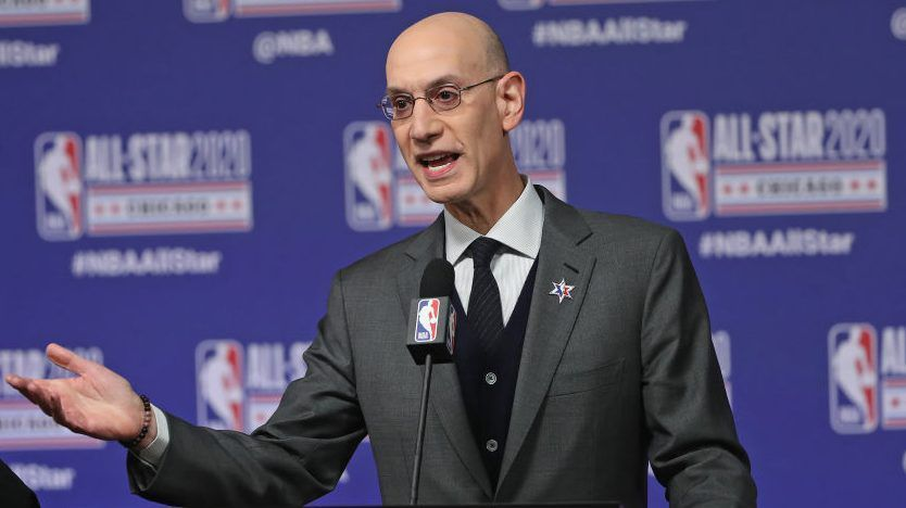 Adam Silver confirme une pause de 30 jours minimum de la NBA