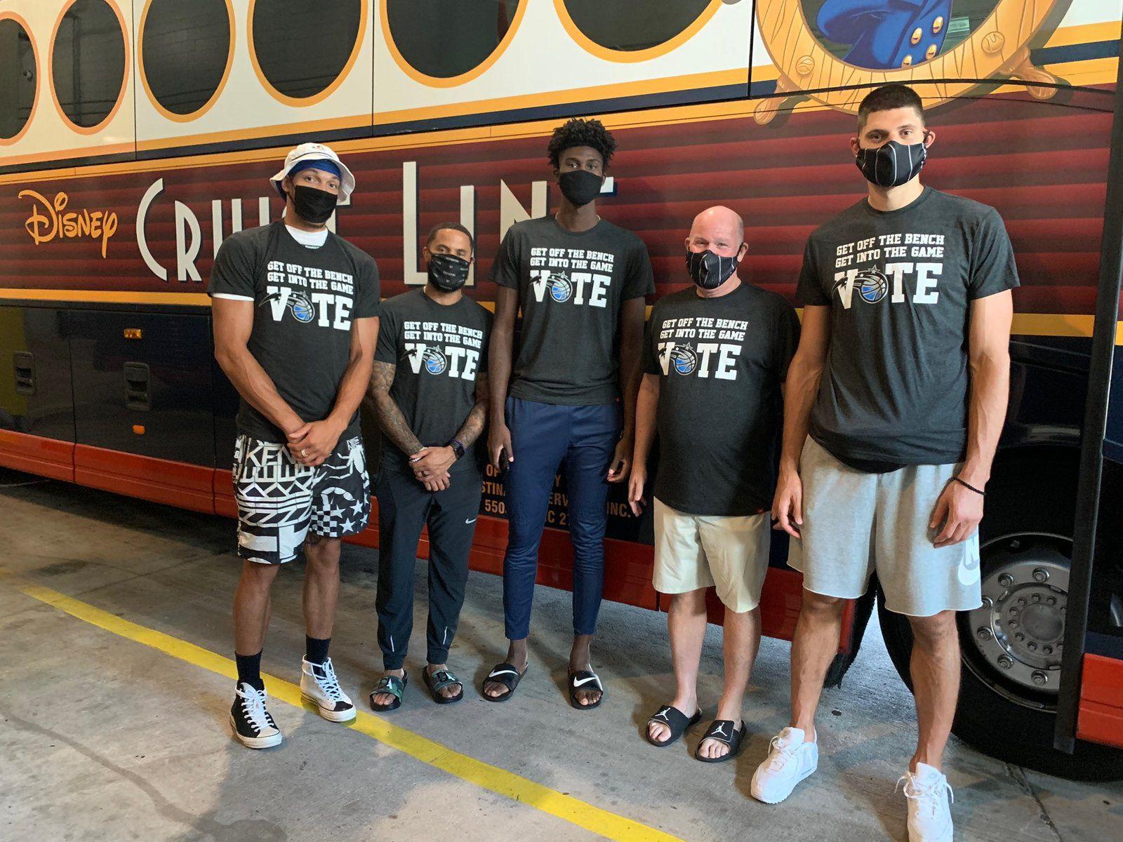 NBA : les joueurs commencent à arriver à Orlando en vue de la reprise