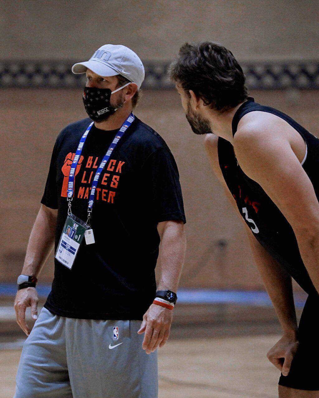 Toronto Raptors : c'est la constance qui a aidé Marc Gasol à se transformer
