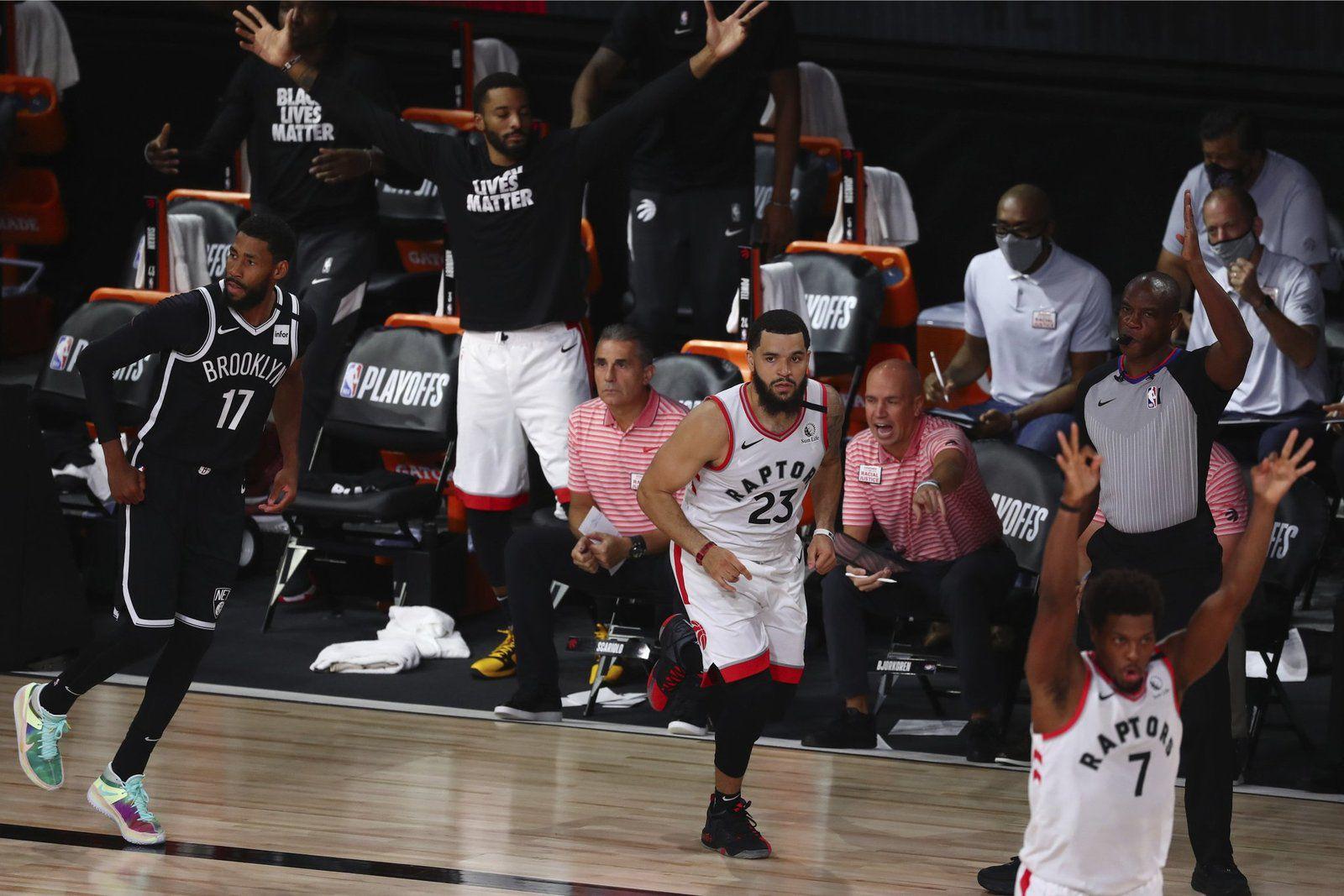 Les Raptors remportent le match 1 de la série face à Brooklyn