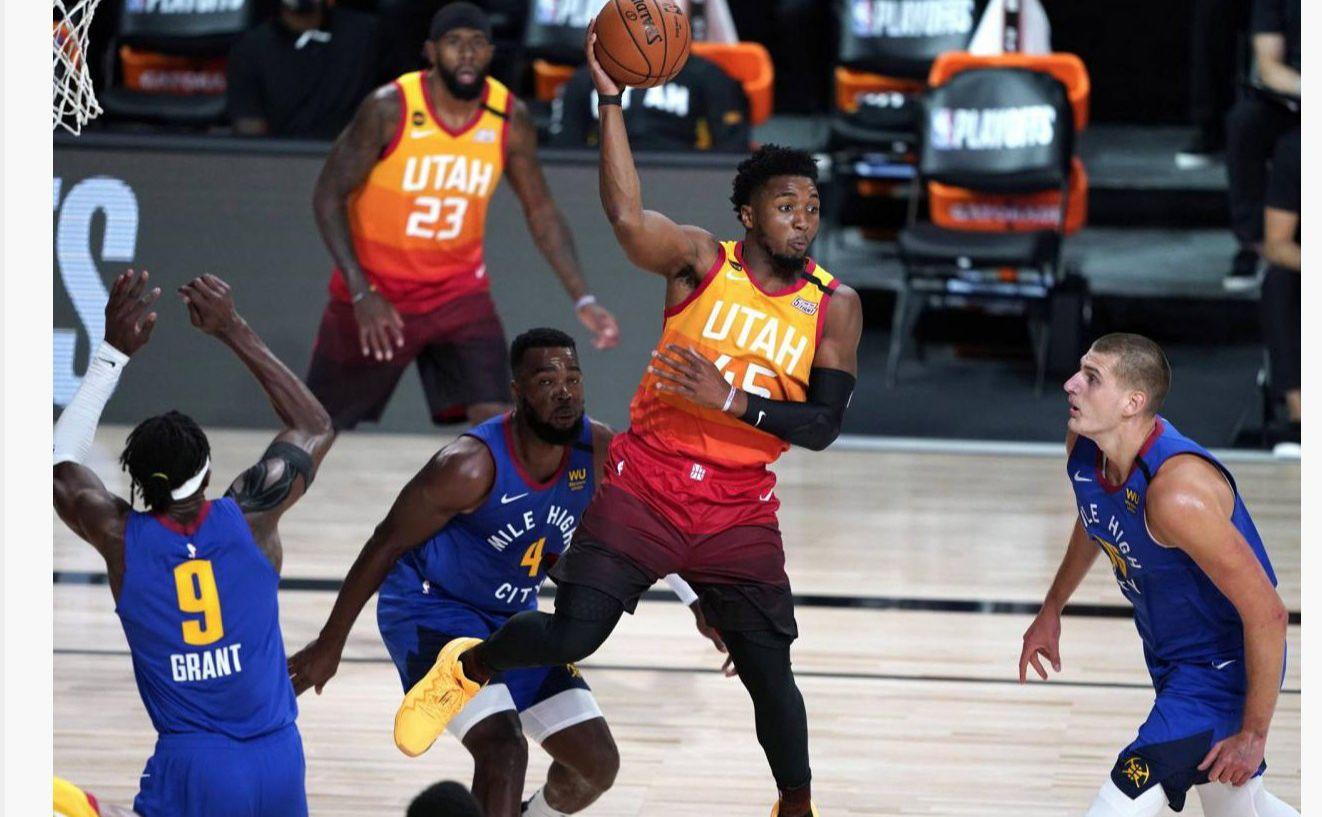 Donovan Mitchell réalise une série maousse face à Denver : le meneur du Jazz a marqué 51 points dimanche.