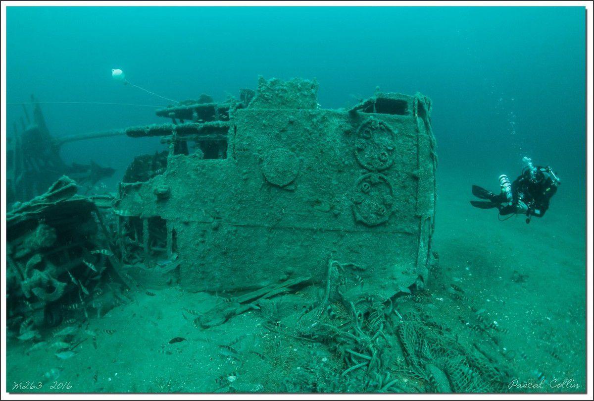 M263, visite au vieux dragueur de mines
