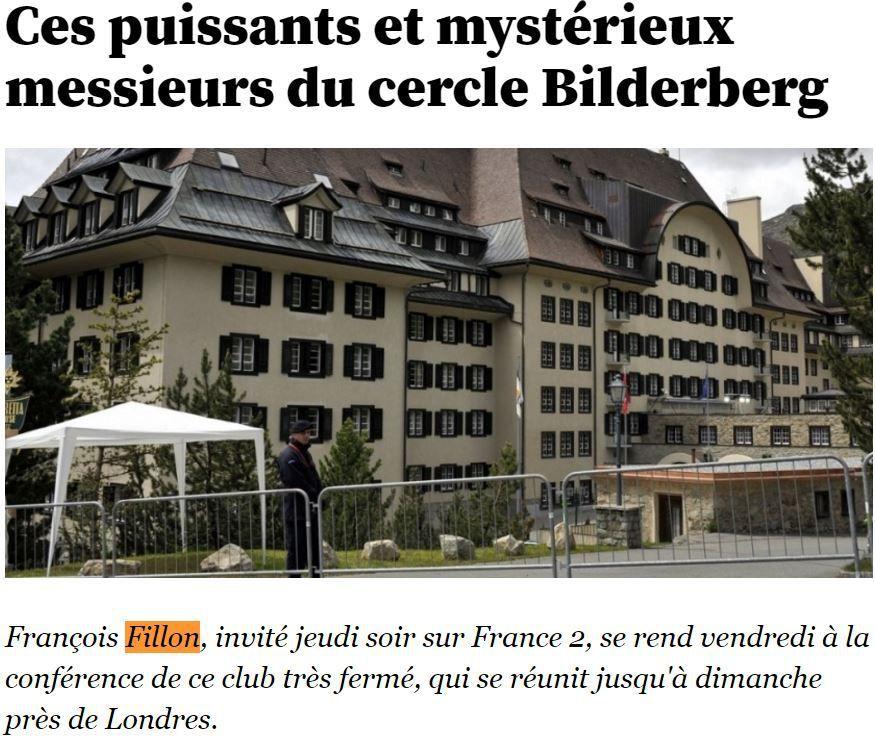 """François Fillon – Alain Juppé : deux Bilderbergers pour le second tour des primaires de la """"droite"""""""