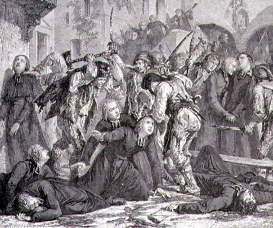 Les martyrs de Septembre 2 Septembre massacre des Prêtres