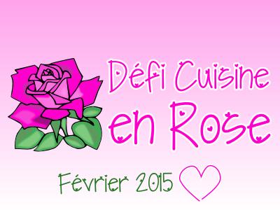 Résultats Défi « La cuisine en rose » février 2015