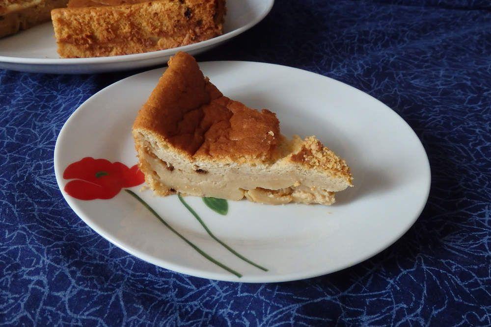 Gâteau magique au café et praliné