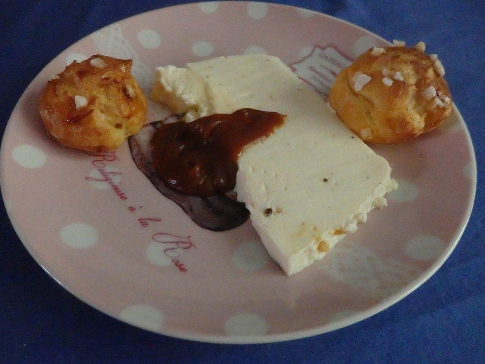 Blanc manger au caramel au beurre salé