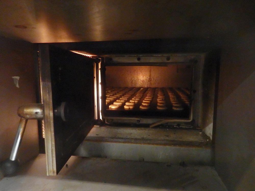 Visite de l'usine « filet bleu «  à Quimper