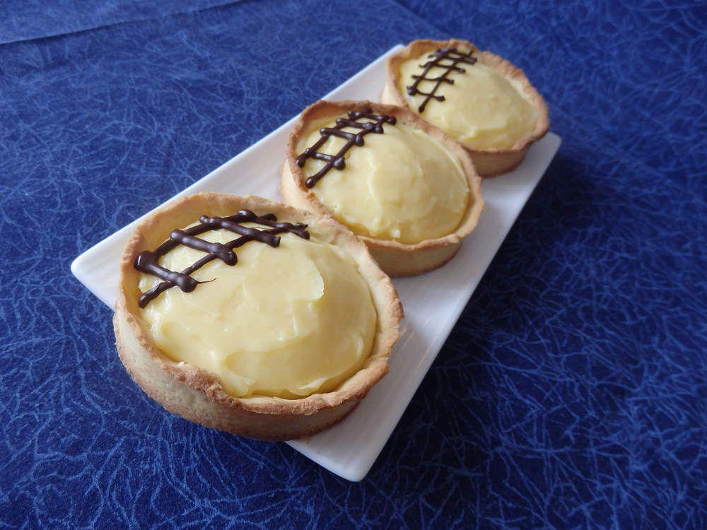 Recette autour d'un ingrédient # 16 : tartelettes au citron