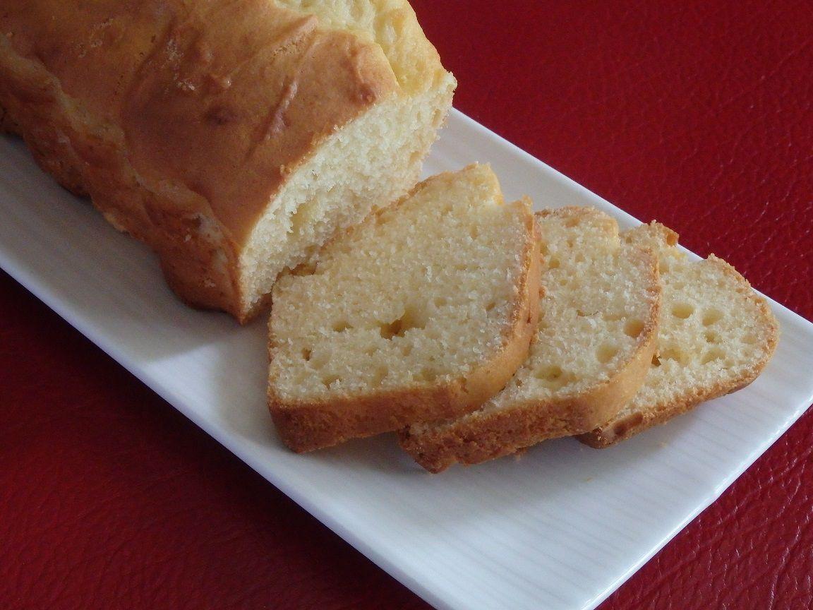 Cake à la ricotta et au citron