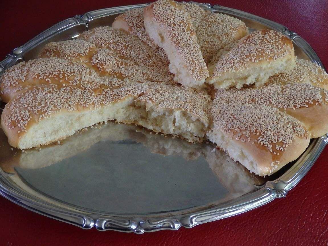 Recette autour d'un ingrédient #19 – pain arabe au four aux graines de sésame