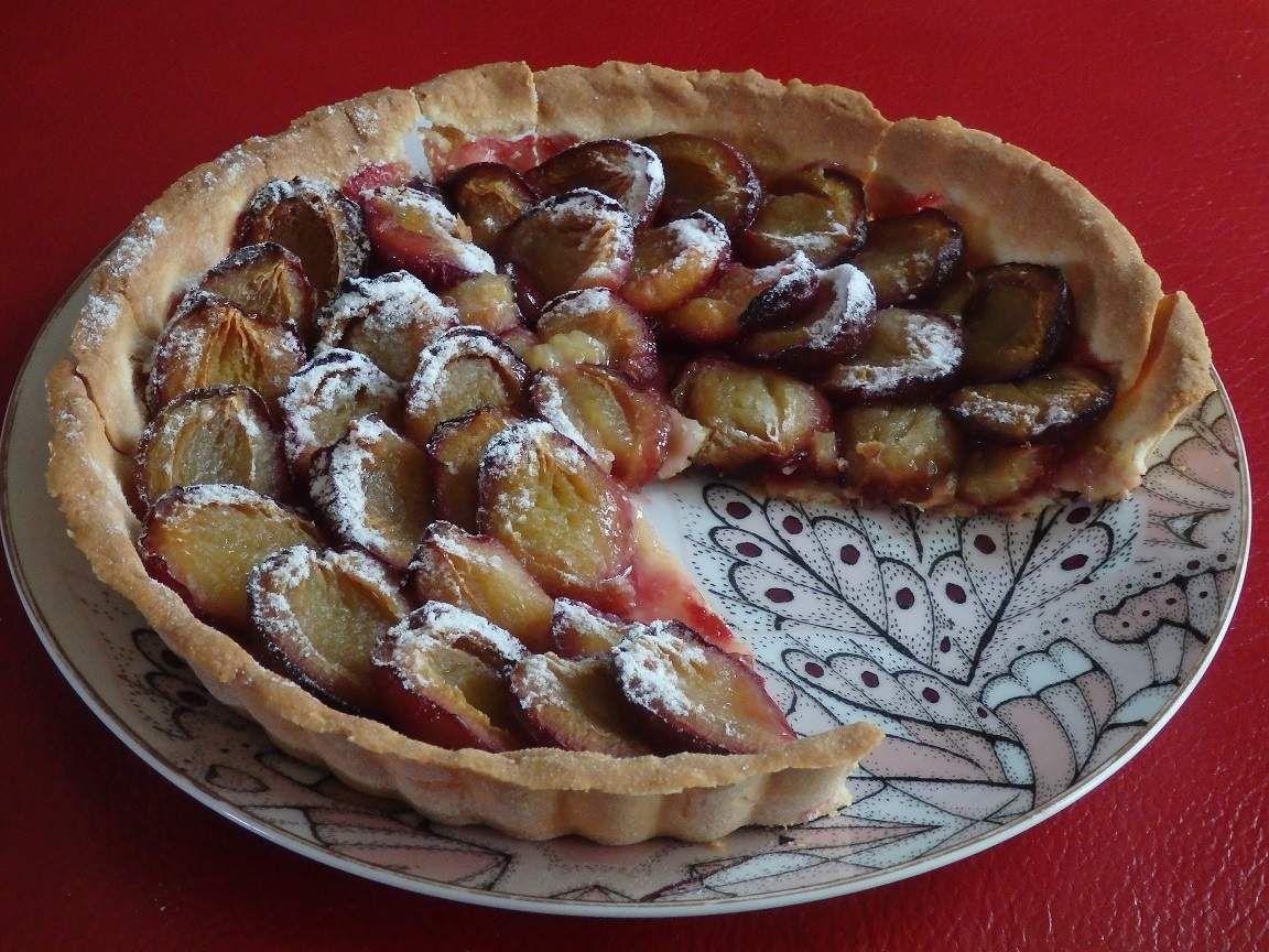 La tarte aux prunes de Mercotte
