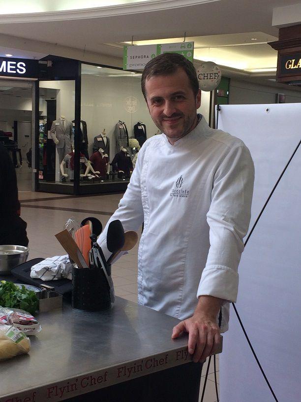 Les candidats et Pierre Lefebvre  (crédits photos Flyin Chef)