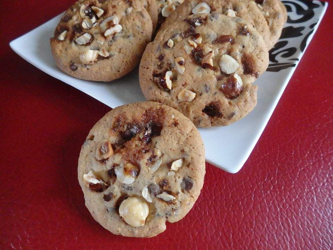 Cookies tout noisette