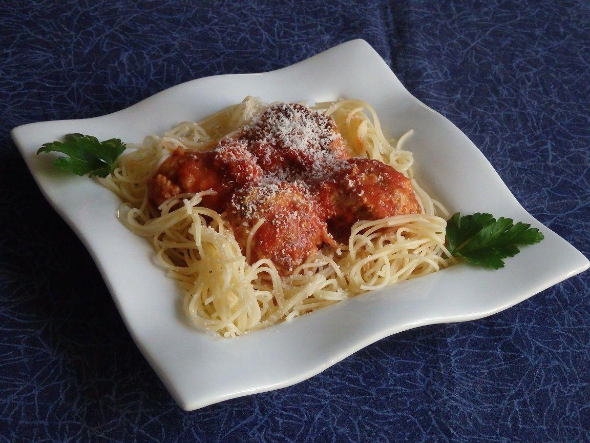 Polpette (boulettes de viande au parmesan)