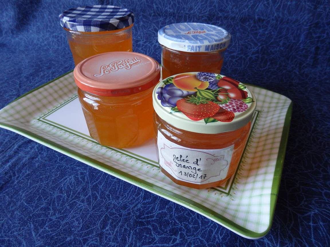 Gelée orange et citron