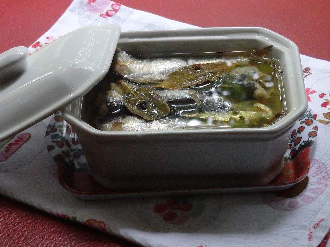 Sardines à l'huile maison