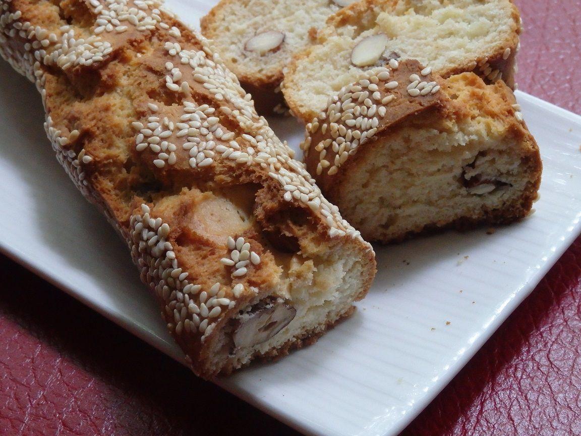 Les croquets, gâteau algérien sec